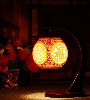 古典中式宫灯展示