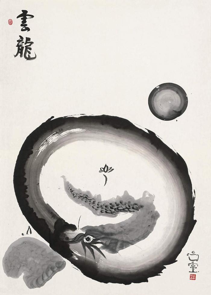 雪山静岩作品《云龙》以570万元在北京保利拍卖会上成交