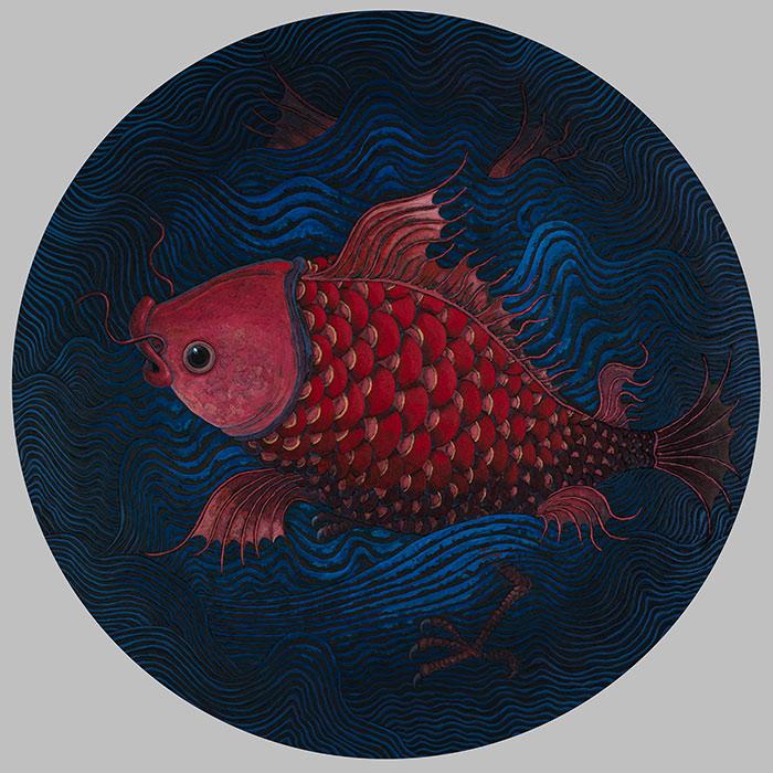 《山海图纪》第三回——许英辉绘画艺术展在树美术馆展出..