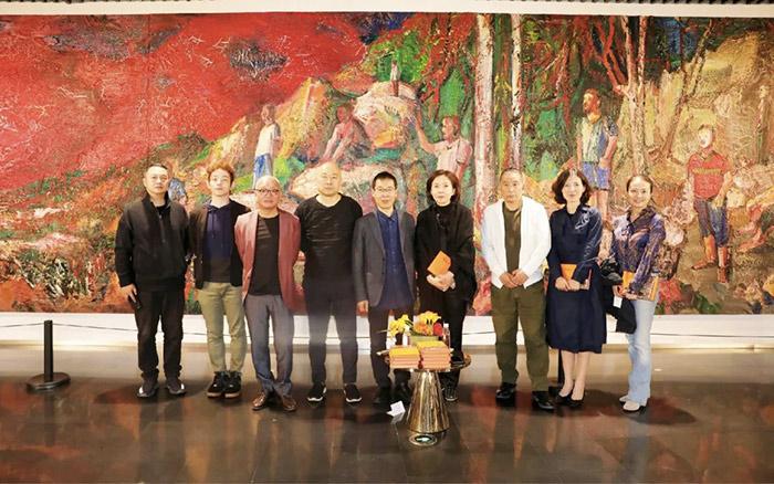 黄石论尹朝阳《惊雷》新书发布会在宝龙美术馆举办