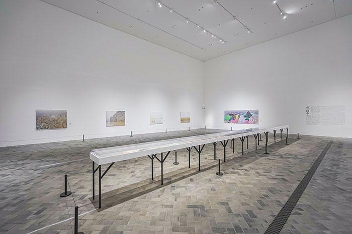 """济宁市美术馆""""黄河:熔铸民族精神""""特展开幕,展出26位艺术家46件作品"""